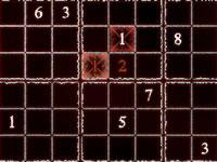 Jeu Sinister Sudoku