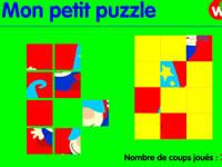 Jeu Mon petit puzzle
