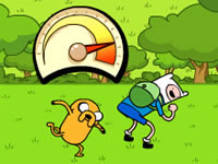 Jeu Adventure Time - Jumping Finn