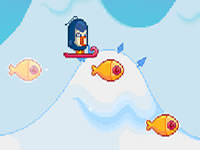 Jeu Avalanche - A Penguin Adventure