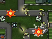 Jeu Haunted Suburb Tower Defense