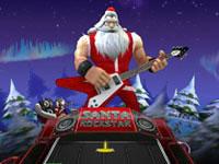 Jeu gratuit Santa Rockstar 4