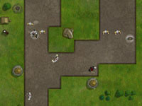 Jeu gratuit Hands of War Tower Defense