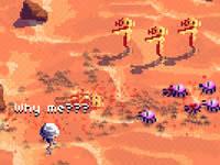 Jeu Mars Commando