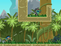 Jeu Jungle Wars