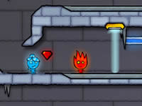 Jouer à Fireboy and Watergirl 3 - The Ice Temple