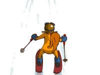 Jeu SQRL Ski