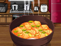 Jeu Cook a chicken curry