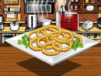 Jeu Crispy onion rings