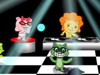 Jeu Happy Tree Friends Nr4 -  Crazy Disco