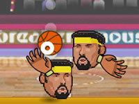 Jeu gratuit Sports Heads - Basketball