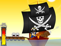 Jeu Angry Pirates