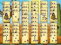 Jeu Chief Eagle Solitaire