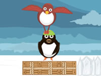 Jeu Flonga Flying Penguins