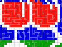 Jeu Color Link-a-Pix : Volume 2