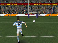 Jeu Rugby Drop Kick Champ
