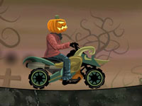 Jeu Pumpkin Head Rider 2