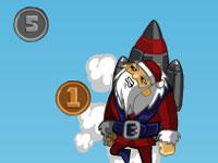 Jeu Rocket Santa 2