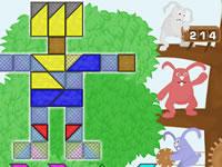 Jeu gratuit 3 Rabbits' Puzzle