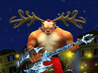 Jeu gratuit Santa Rockstar 5 - Rudolf Saves The World