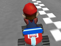 Jouer à Mario Go Kart