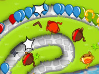 Jeu gratuit Bloons Tower Defense 5