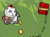 Jeu Jetpack Panda