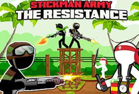 Jouer: Stickman Army - The Resistance