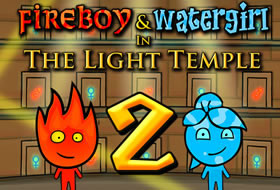 Jouer: Fireboy and Watergirl Light Temple