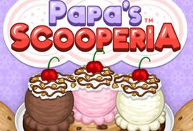 Jouer: Papa's Scooperia