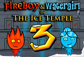 Jouer: Fireboy and Watergirl The Ice Temple