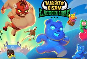 Jouer: Burrito Bison - Launcha Libre