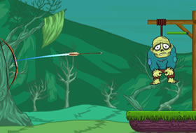 Jouer: Zombie Cut The Rope