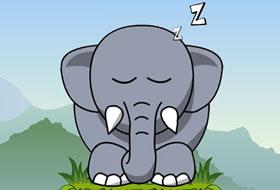 Jouer: Snoring Elephant Puzzle