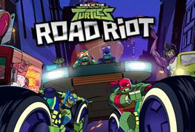 Jouer: Road Riot - TMNT
