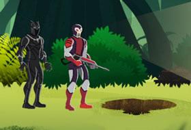 Jouer: Black Panther - Jungle Pursuit