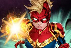 Jouer: Captain Marvel - Galactic Flight