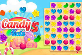 Jouer: Candy Rain 5